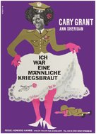 I Was a Male War Bride - German Movie Poster (xs thumbnail)