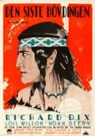 The Vanishing American - Swedish Movie Poster (xs thumbnail)