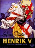 Henry V - Danish Movie Poster (xs thumbnail)