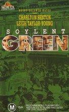 Soylent Green - Australian VHS movie cover (xs thumbnail)