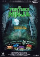 Teenage Mutant Ninja Turtles - French DVD movie cover (xs thumbnail)