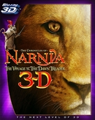 The Chronicles of Narnia: The Voyage of the Dawn Treader - Blu-Ray cover (xs thumbnail)