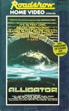 Alligator - Australian VHS movie cover (xs thumbnail)