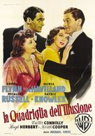 Four's a Crowd - Italian Movie Poster (xs thumbnail)