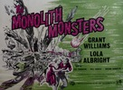 The Monolith Monsters - British Movie Poster (xs thumbnail)