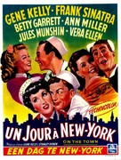 On the Town - Belgian Movie Poster (xs thumbnail)