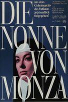 La monaca di Monza - German Movie Poster (xs thumbnail)