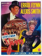 Gentleman Jim - Belgian Movie Poster (xs thumbnail)