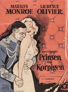 The Prince and the Showgirl - Danish Movie Poster (xs thumbnail)