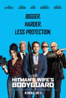 The Hitman's Wife's Bodyguard - British Movie Poster (xs thumbnail)