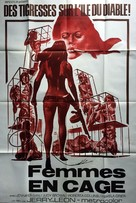 Women in Cages - French Movie Poster (xs thumbnail)