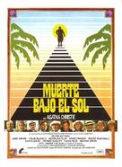 Evil Under the Sun - Spanish Movie Poster (xs thumbnail)