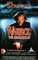 Warlock: The Armageddon - Polish Movie Cover (xs thumbnail)