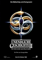The NeverEnding Story II: The Next Chapter - German Movie Poster (xs thumbnail)