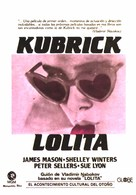 Lolita - Spanish Movie Poster (xs thumbnail)