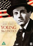 Young Mr. Lincoln - British DVD movie cover (xs thumbnail)