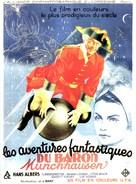Münchhausen - French Movie Poster (xs thumbnail)