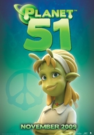 Planet 51 - Movie Poster (xs thumbnail)