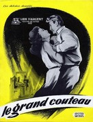 The Big Knife - French Movie Poster (xs thumbnail)