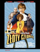 Austin Powers in Goldmember - Polish Movie Poster (xs thumbnail)