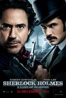 Sherlock Holmes: A Game of Shadows - Singaporean Movie Poster (xs thumbnail)
