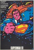 Superman III - Polish Movie Poster (xs thumbnail)