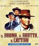 Il buono, il brutto, il cattivo - Italian Blu-Ray cover (xs thumbnail)