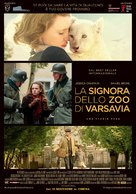 The Zookeeper's Wife - Italian Movie Poster (xs thumbnail)