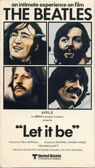 Let It Be - VHS movie cover (xs thumbnail)