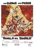 Duel at Diablo - Spanish Movie Poster (xs thumbnail)