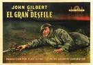 The Big Parade - Spanish Movie Poster (xs thumbnail)