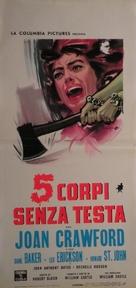 Strait-Jacket - Italian Movie Poster (xs thumbnail)