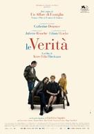 The Truth - Italian Movie Poster (xs thumbnail)