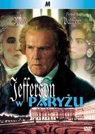 Jefferson in Paris - Polish Movie Cover (xs thumbnail)