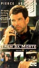 Death Train - Brazilian VHS movie cover (xs thumbnail)
