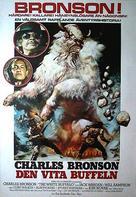 The White Buffalo - Swedish Movie Poster (xs thumbnail)