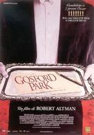Gosford Park - Italian Movie Poster (xs thumbnail)