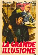 La grande illusion - Italian Movie Poster (xs thumbnail)