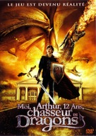 Adventures of a Teenage Dragonslayer - French Movie Cover (xs thumbnail)