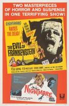 The Evil of Frankenstein - Combo movie poster (xs thumbnail)