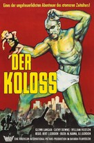 The Amazing Colossal Man - German Movie Poster (xs thumbnail)
