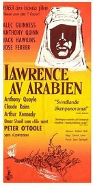 Lawrence of Arabia - Swedish Movie Poster (xs thumbnail)