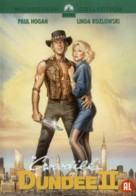 Crocodile Dundee II - Dutch DVD movie cover (xs thumbnail)