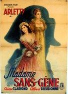 Madame Sans-Gêne - Italian Movie Poster (xs thumbnail)