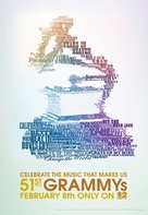 The 51st Annual Grammy Awards - Movie Poster (xs thumbnail)