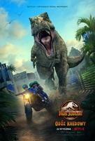 """Jurassic World: Camp Cretaceous"" - Polish Movie Poster (xs thumbnail)"