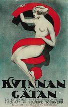Woman - Swedish Movie Poster (xs thumbnail)