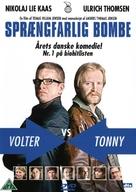 Sprængfarlig bombe - Danish DVD cover (xs thumbnail)