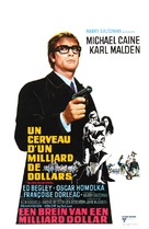 Billion Dollar Brain - Belgian Movie Poster (xs thumbnail)