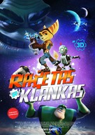 Ratchet and Clank - Lithuanian Movie Poster (xs thumbnail)